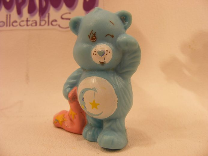 VINTAGE BEDTIME CARE BEARS MINIATURE